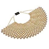Bib Collar Necklace Chunky CCB Resin Beads Chain Choker Statement Necklace Womens Fashion Jewelry Necklace