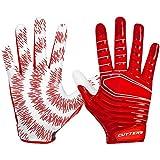 Cutters Gloves Rev 3.0 Receiver Gloves, Red, Medium