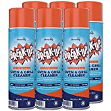 Diversey Break-Up Professional Oven & Grill Cleaner, Aerosol, 19 oz. (6 Pack)