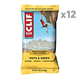 CLIF BAR - Energy Bar - Nuts and Seeds - (2.4 Ounce Protein Bar, 12 Count)
