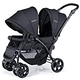 BABY JOY Double Baby Stroller, Foldable Double Seat...