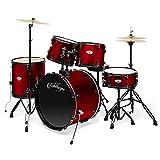 Ashthorpe 5-Piece Complete Full Size Adult Drum Set...