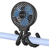 WiHoo Mini Handheld Stroller Fan,5200mAh Personal...