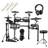 Roland TD-27KV V-Drums Electronic Drum Set, Bundle with...