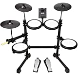 RockJam Mesh Head Kit, Eight Piece Electronic Drum Kit...