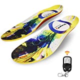 Dr.Warm Heated Insoles Rechargeable Battery Heated...
