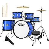 Eastar 16 inch Junior Drum Set Kids Drum Set 5-Piece...