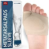 Fabric Metatarsal Pads - Ball of Foot Cushions Support...