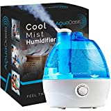 AquaOasis Cool Mist Humidifier {2.2L Water Tank} Quiet...