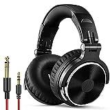 OneOdio Wired Over Ear Headphones Studio Monitor &...