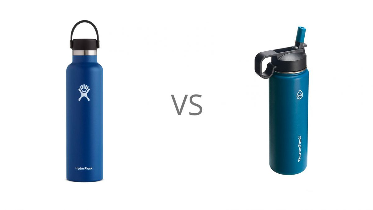 Hydro Flask vs. Thermoflask Review: The In-depth Review and Comparison